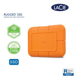 [Trả góp 0%]Ổ Cứng Di Động SSD Lacie Rugged USB-C Thunderbolt 3 + Rescue Gói cứu dữ liệu thumbnail
