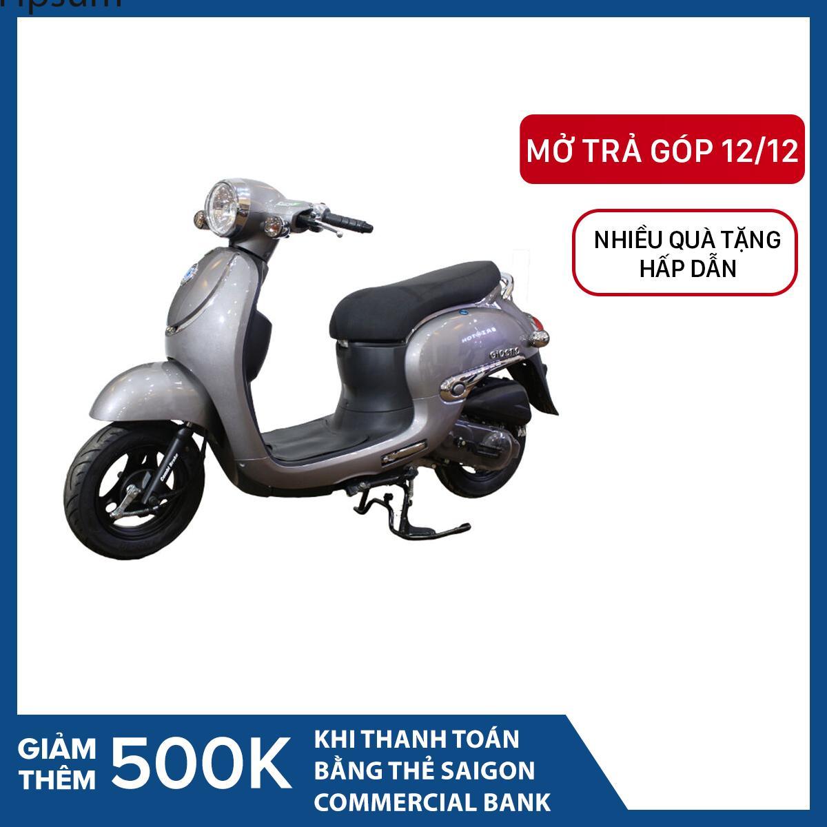 Trả góp 0% - Xe tay ga 50cc Taya Giorno Luxury (màu ghi)