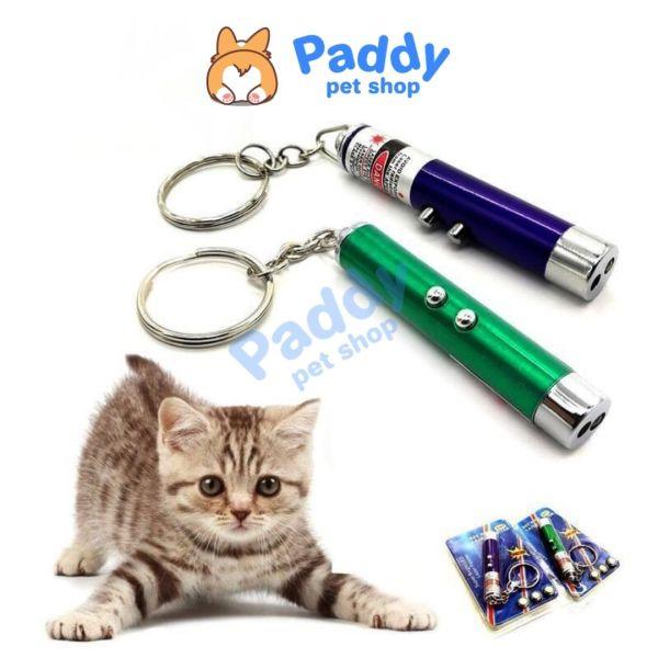 Đèn Laser Tương Tác Với Chó Mèo Cầm Tay Tiện Lợi (Tặng kèm 3 pin)