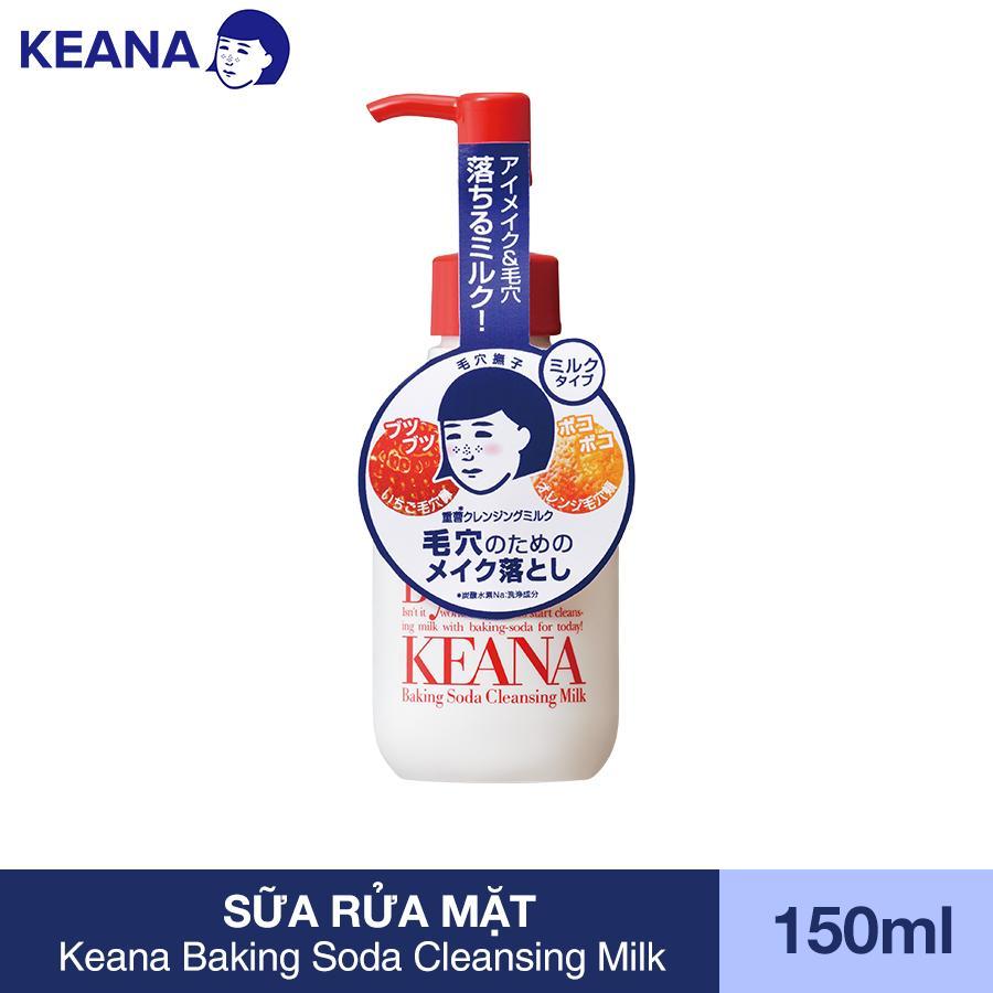 Sữa Rửa Mặt Keana Baking Soda Cleansing Milk (150 mL)