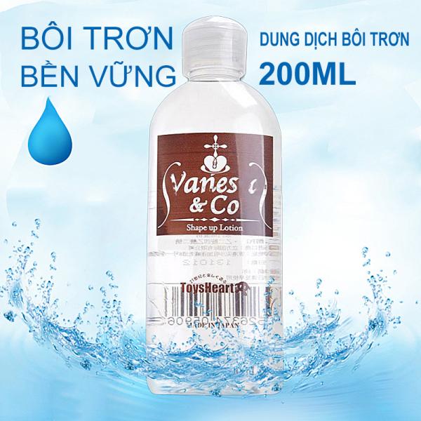 Gel bôi trơn Vanessa & Co Masage Body 200ml nhập khẩu Nhật bản chất lượng - Baidu Shop -