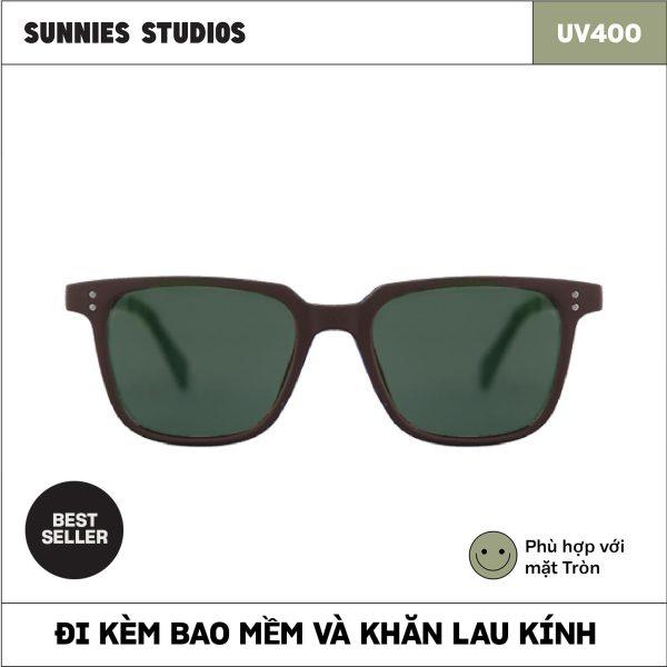 Giá bán Kính mát Sunnies Studios Gọng Vuông Henrick in Mantis