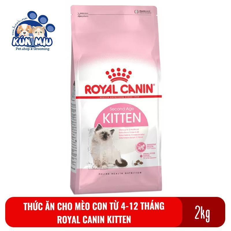Thức ăn cho mèo con từ 4 đến 12 tháng tuổi Royal Canin Kitten 36 2kg