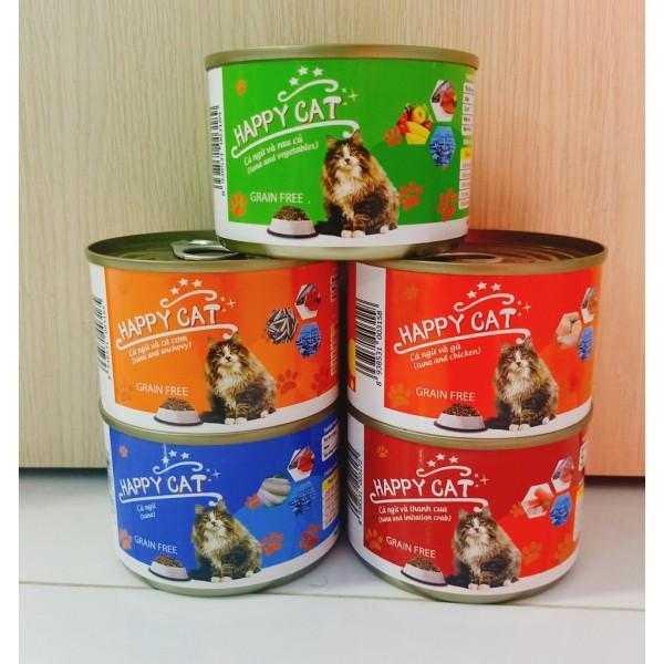 Pate Happy Cat 160gr- Pate mèo - THỨC ĂN PATE DÀNH CHO MÈO