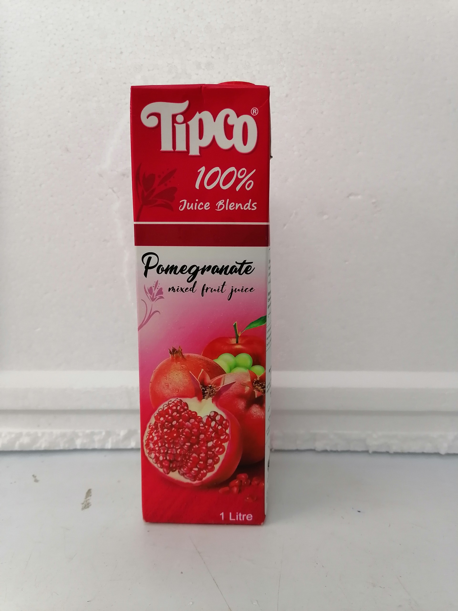 Nước ép TIPCO Lựu và trái cây 100% Pomegranate and Mixed Fruit Juice 1 Lít (halal)