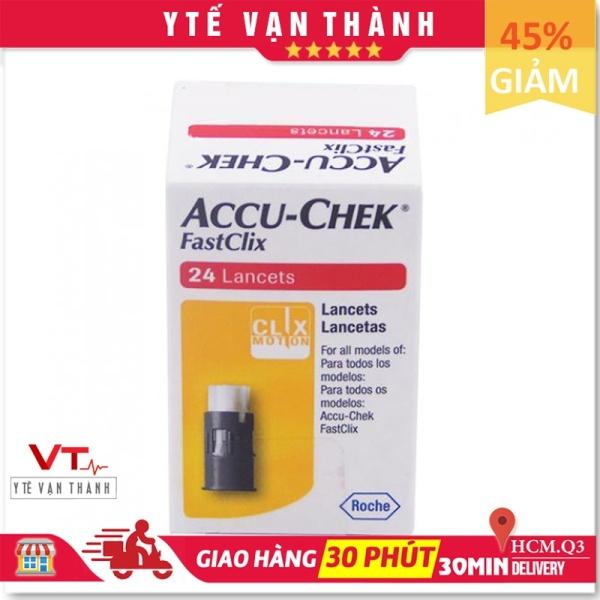 ✅ [Chính Hãng] Kim Thử Đường Huyết: Accu-chek Fastclix (24 Kim) - [Y Tế Vạn Thành] - Mã SP: VT0484