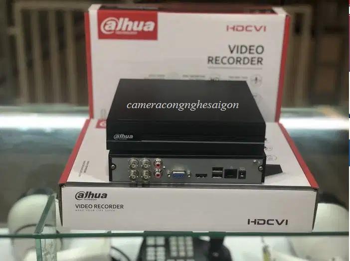 Đầu ghi hình 4kênh, hỗ trợ camera HDCVI/Analog/IP/TVI/AHD,XVR1A04