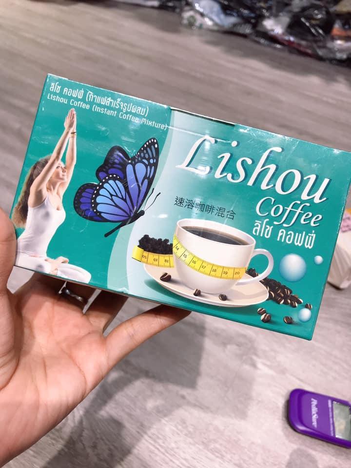 CAFE GIẢM CÂN LISHOU THÁI LAN- cam kết chính hãng nhập khẩu