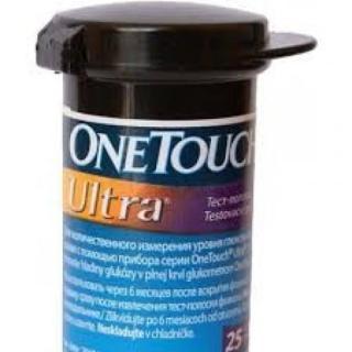 Que thử đường huyết One Touch Ultra, hộp 25 que, sản xuất tại Mỹ thumbnail