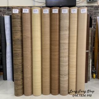Decal vân gỗ - Giấy dán tường bàn tủ vân gỗ có sẵn keo khổ 1,2m thumbnail