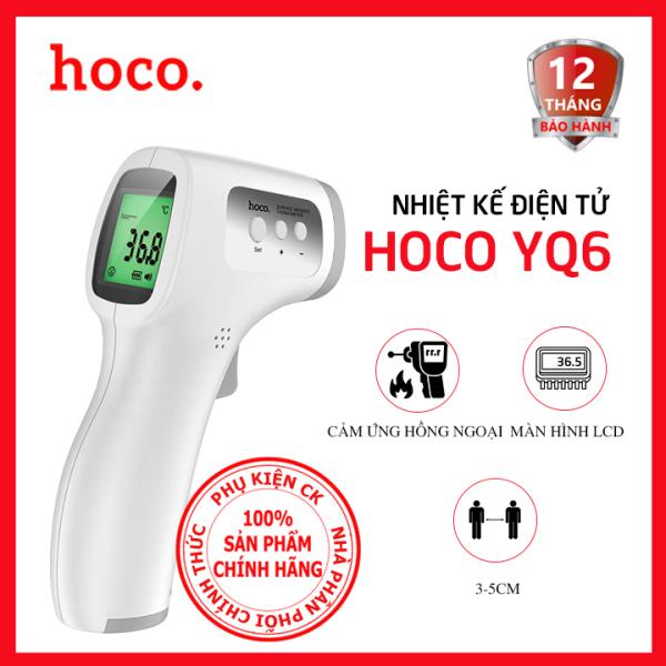 [Màn hình LCD] Nhiệt kế điện tử hồng ngoại Hoco YQ6 bán chạy