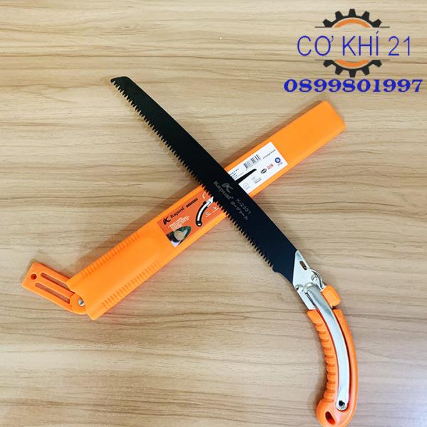 Cưa gỗ càm tay lưỡi đen thép Nhật KAPUSI 350mm