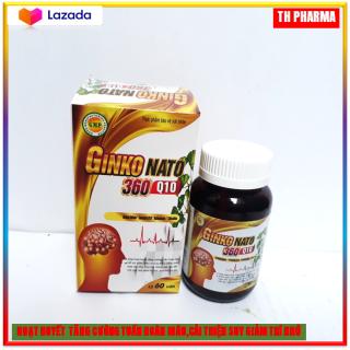 Viên uống hoạt huyết dưỡng não Ginkgo Natto With coenzym Q10 với thành phần Gingko biloab 500mg giúp hoạt huyết dưỡng não, cải thiện tình trạng thiếu máu não, rối loạn tiền đình, suy giảm trí nhớ- thumbnail