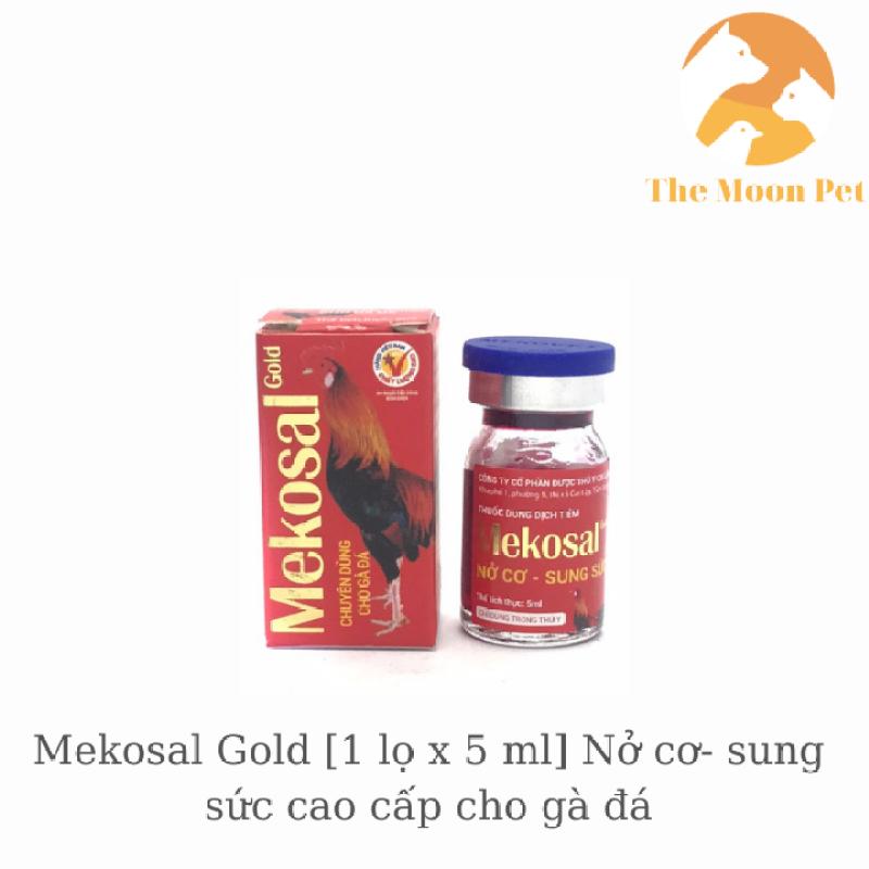 Mekosal Gold [1 lọ x 5ml] Nở cơ- sung sức cao cấp cho gà đá
