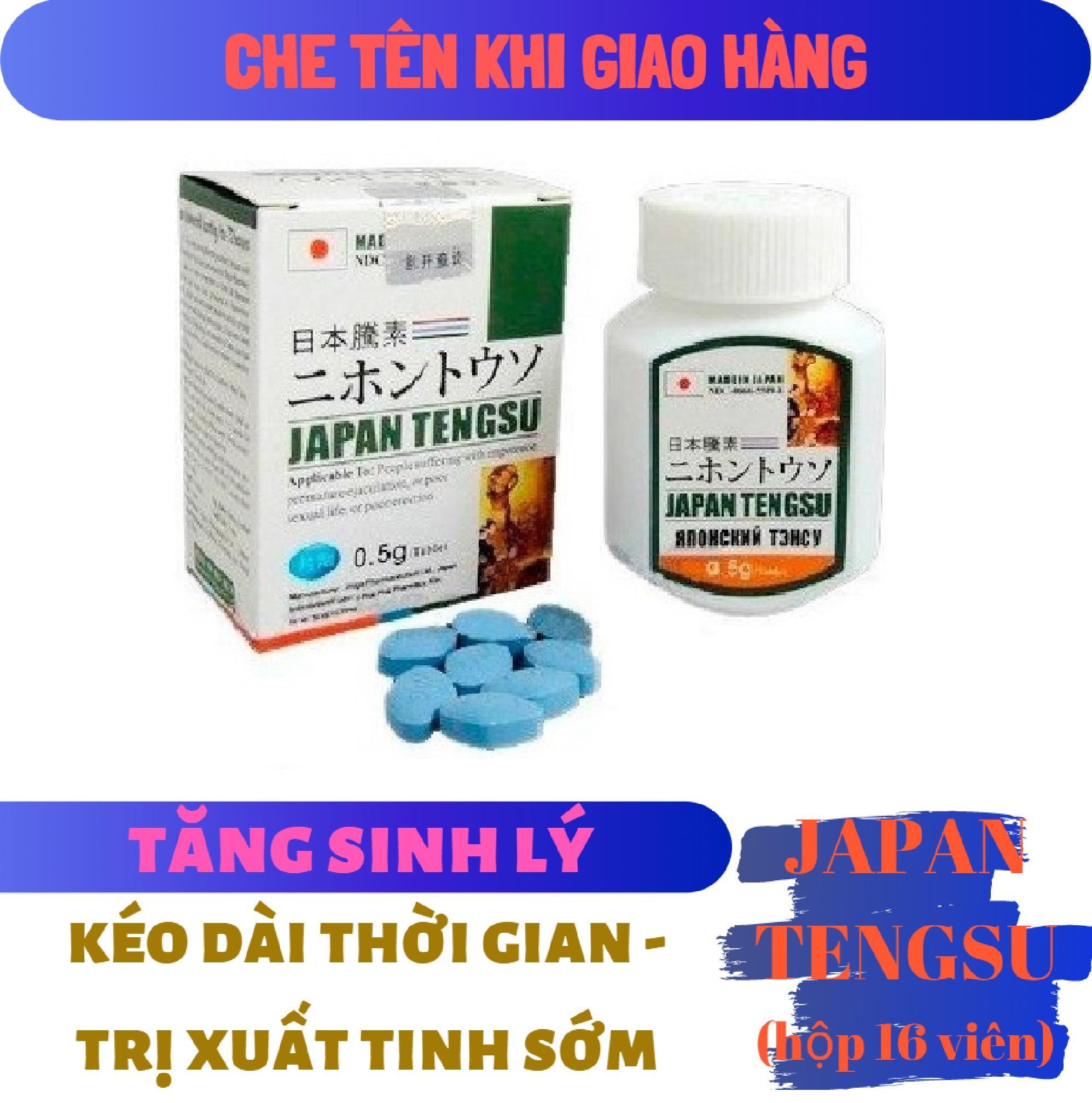 Viên tăng sức khỏe sức bền Nam giới TENGSU (hộp 16 viên) (che tên khi giao hàng) nhập khẩu