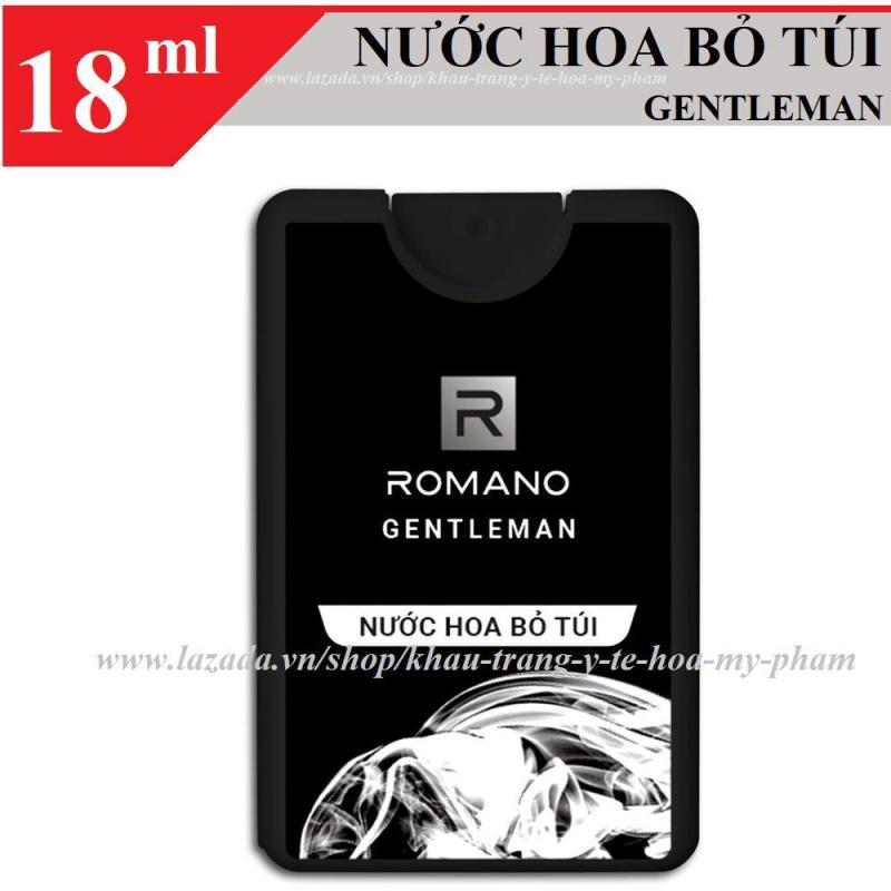 Romano - Nước hoa bỏ túi hương Gentleman 18 ml