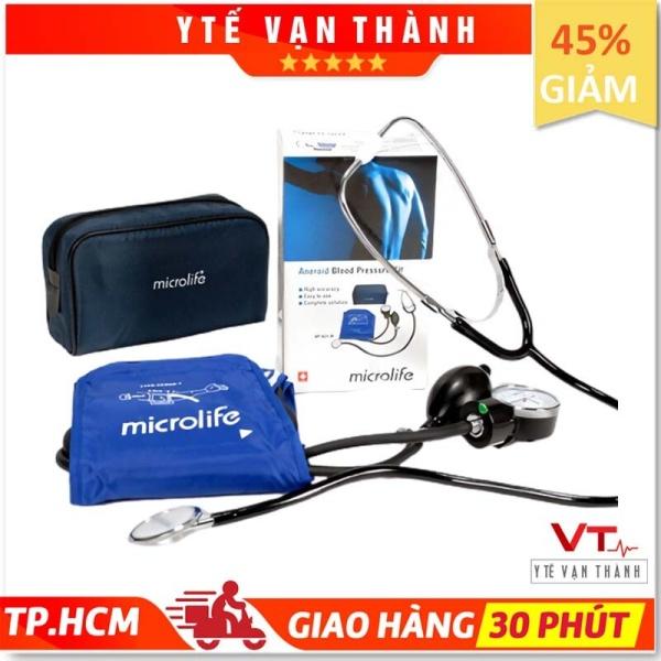 Nơi bán ✅ Máy Đo Huyết Áp Cơ Microlife BP AG1-20 (Gồm Tai Nghe) - VT0016 [ Y Tế Vạn Thành ]