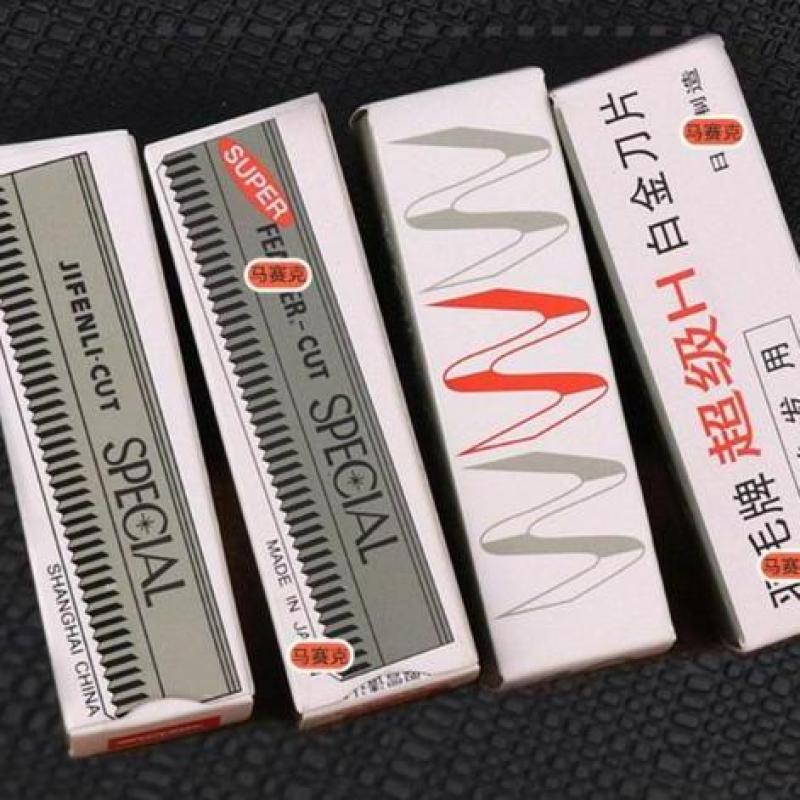 Bộ 10 dao cạo lông mày cao cấp Nhật Bản - phụ kiện trang điểm giá rẻ - Lavy Store