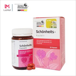 [Chính hãng] Tinh dầu hoa ảnh thảo ổn định nội tiết Sanct Bernhard Schonheits 60 viên thumbnail