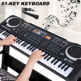 Đàn Piano 61 Phím Có Mic Cho Bé Hát, Kỹ Thuật Số Đàn Piano Điện Tử Bàn Bàn Phím Có Mic, đồ Chơi Giáo Dục Cho Người Mới Bắt Đầu 3-8 Tuổi, Phát Triển Tài Năng Trí Tuệ Của Trẻ Em thumbnail