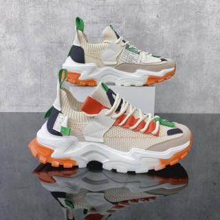 Giày thể thao nam, giày sneakers nam tăng chiều cao đế loang JT001 thumbnail