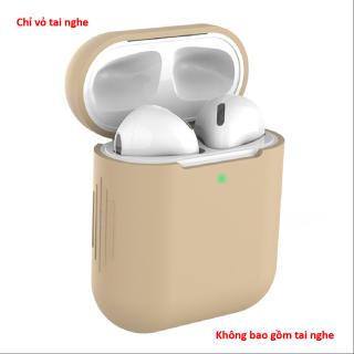 Ốp tai nghe không dây chống sốc bằng silicon bảo vệ cho Airpods 1 2 Sen - INTL thumbnail