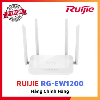 Bộ phát wifi không dây RUIJIE RG-EW1200 Chuẩn AC 867Mbps Công nghệ Reyee Mesh Không dây băng tần kép 802.11ac Wave2 Bảo hành 24 thumbnail