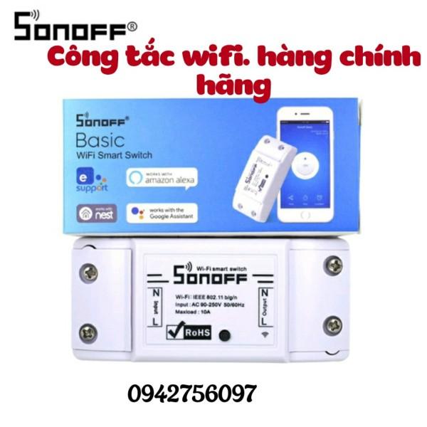 Công tắc thông minh Sonoff Basic điều khiển qua App eWeLink Wifi 3G 4G