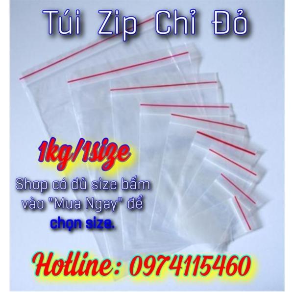 1kg túi zip chỉ đỏ (hàng chất lượng) bấm vào chọn size, sản phẩm đa dạng về mẫu mã, kích cỡ, chất lượng tốt, đảm bảo an toàn sức khỏe người dùng