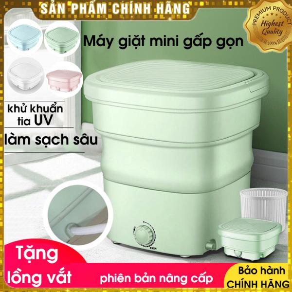 [FreeShip - Bảo hành] Máy giặt mini Yangzi gấp gọn thông minh chính hãng, vắt khô và khử trùng bằng công nghệ Blue Ag phù hợp cá nhân và gia đình nhỏ [Tặng lồng vắt 100k]