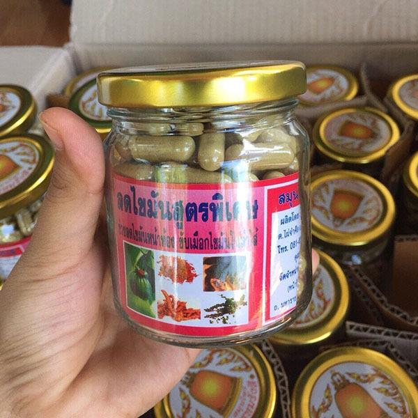 viên khử mỡ giảm cân đông y Thái Lan 150v giá rẻ