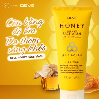 Sữa rửa mặt chiết xuất mật ong Deve Honey Face Wash Nhật Bản (Tuýp 130g) thumbnail