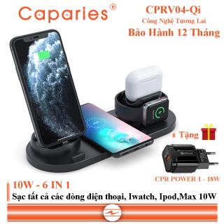 Đế Sạc Nhanh Không Dây CAPARIES CPRV04-Qi thumbnail