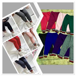 combo 5 chiếc quần legging bo gấu siêu hót cho bé 8-21kg thumbnail