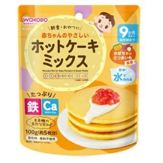 [Tặng gia vị rắc cơm]Bột Làm Bánh Pancake Wakodo ( Gói Zip) cho bé ăn dặm 9M+ thumbnail