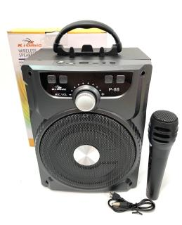 Loa Bluetooth Karaoke P-88 P-89 20W Tặng Kèm Micro Hát Cực Hay thumbnail