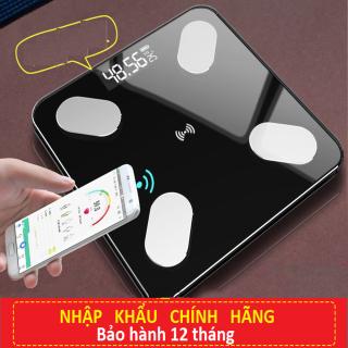 [Chính Hãng] Cân Sức Khỏe Điện Tử Kết Nối Bluetooth Đo Chỉ Số Sức Khỏe Nhằm Kiểm Soát Chế Độ Ăn Uống, Hoạt Động Thể Thao thumbnail
