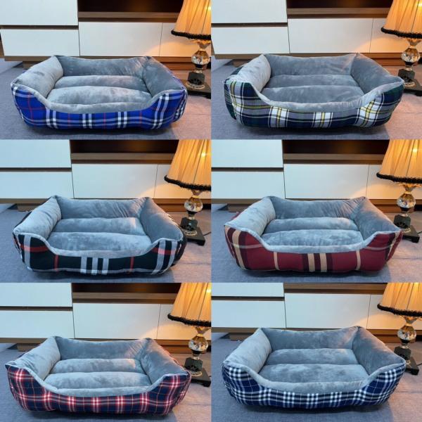 HN-Hanpet NỆM CHÓ MÈO - Nệm ngủ mùa đông, nệm hình chữ nhật có thành (màu ngẫu nhiên)Nệm cho chó/ nệm ngủ cho chó / nệm ngủ thú cưng / nệm ngủ cho mèo / thảm chó / nệm thú cưng / thảm thú cưng / thảm ngủ / giường chó / thảm lót chuồn