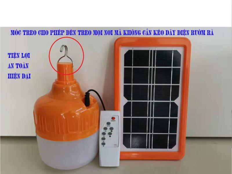 Đèn led năng lượng mặt trời 50W JD-X50 3 chế độ sáng