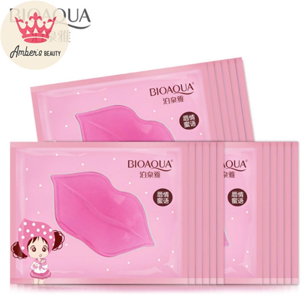 Mặt Nạ Môi Tẩy Tế Bào Chết Combo 5 Collagen Nourish Lips Membrane Mask Lk5k6 chính hãng