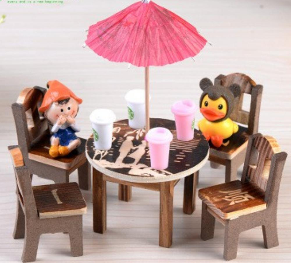 Mua Bộ bàn ghế Trung Hoa kèm ô/tiểu cảnh/terrarium