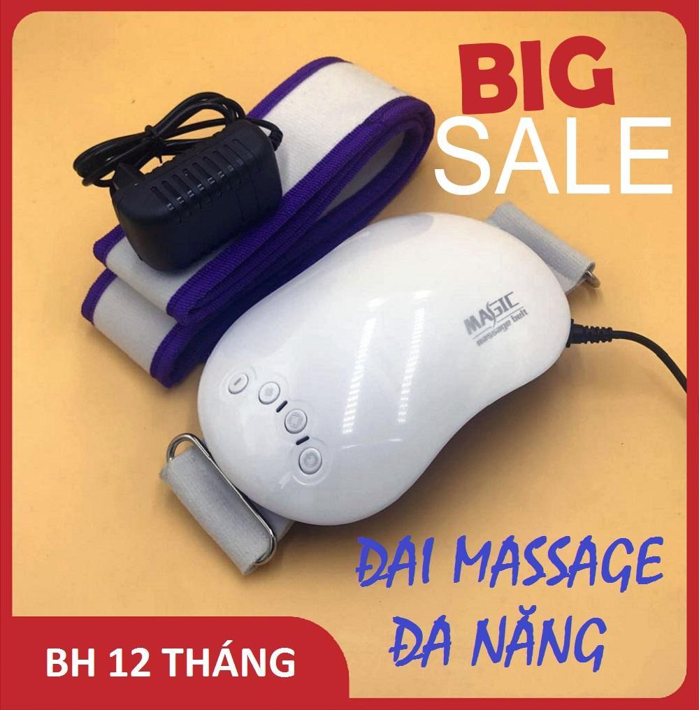 Đai massage bụng, Đai giảm mỡ bụng, Máy massage toàn thân, Đai Massage Magic, Giảm mỡ toàn thân mang lại cho bạn vóc dáng thon gọn,Tiện dụng- Nhỏ gọn-An toàn BẢO HÀNH 1 ĐỔI 1 tốt nhất