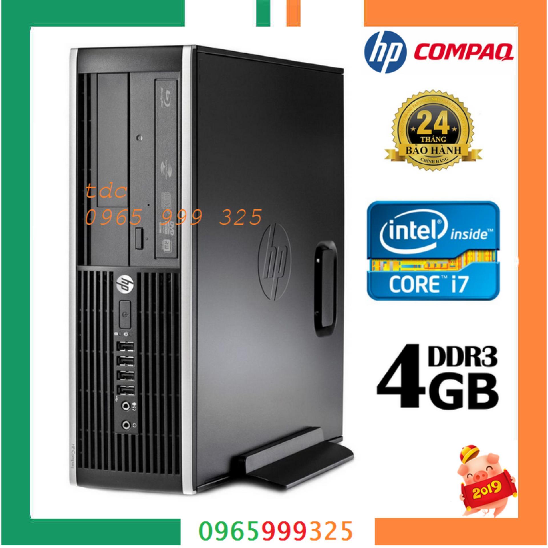 Cây Máy Tính để Bàn HP 6200 Pro Sff (CPU I7 2600, Ram 4GB, HDD 500GB, DVD).Quà Tặng USB Wifi. Hàng Nhập Khẩu Giá Ưu Đãi Không Thể Bỏ Lỡ