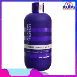 [HCM]Dầu gội dành cho tóc tẩy trắng tóc bạch kim Silver Shampoo Elgon 300ml thumbnail