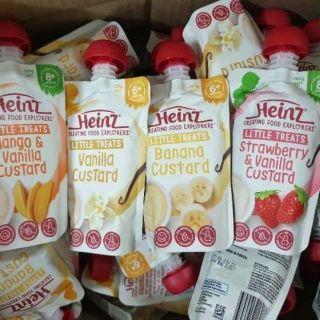 [Freeship + Combo mua 2 giảm 5% + Voucher](Date mới) Combo 10 túi váng sữa Heinz 120g (chuối 6m+), cam kết hàng đúng mô tả, chất lượng đảm bảo, an toàn đến sức khỏe của trẻ thumbnail