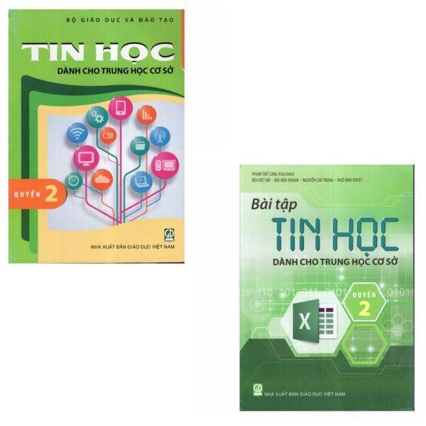 Mua Combo Tin Học + Bài Tập Tin Học Dành Cho THCS - Quyển 2 ( Lớp 7)