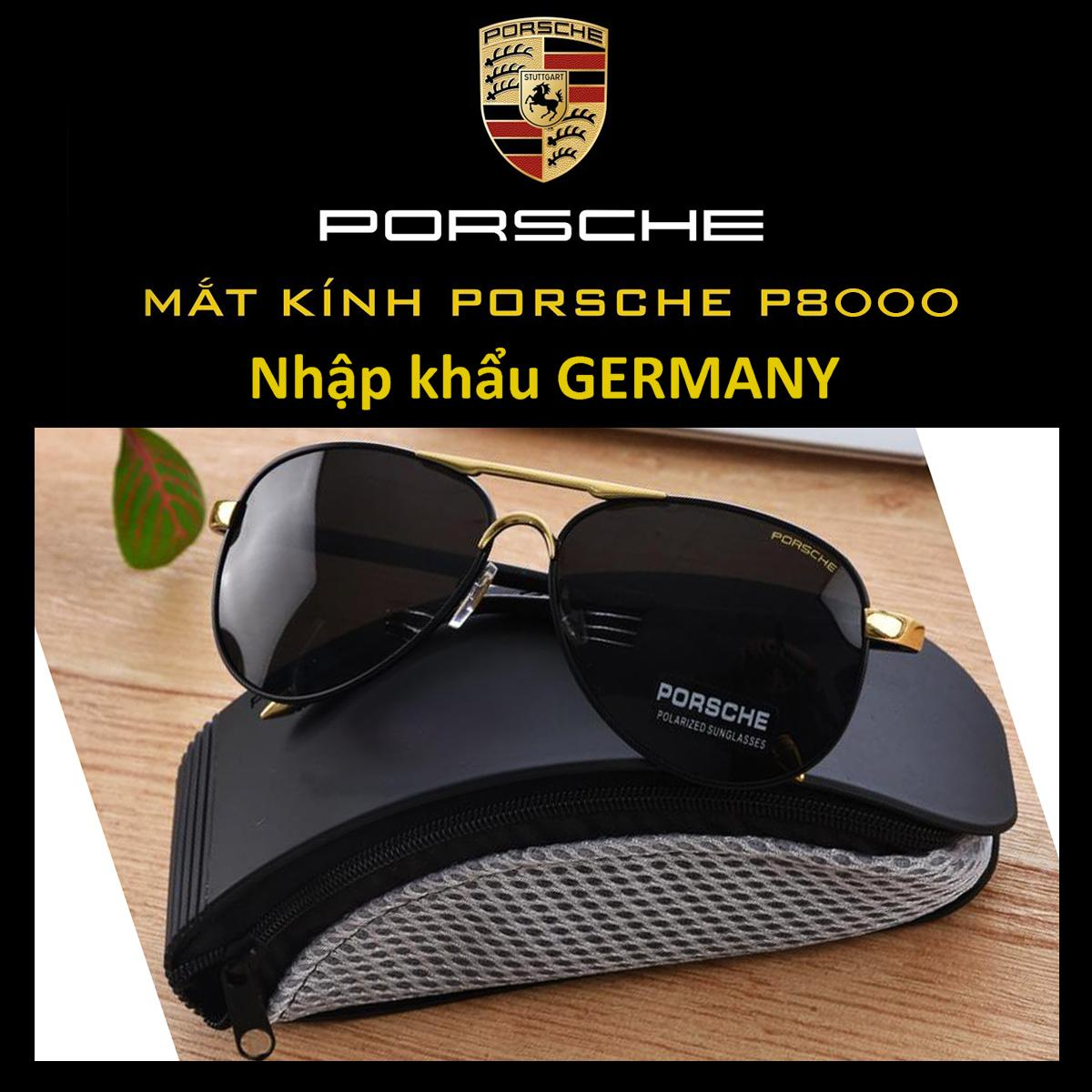 Kính Mát Nam Porsche P8000 - Nhập Khẩu Germany