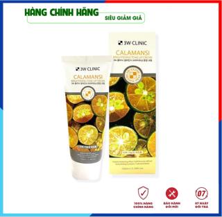 [Hàng Nhập Khẩu Hàn Quốc] Kem nền dưỡng trắng da tinh chất trái quất ngọt 3W Clinic Hàn Quốc 100ml thumbnail