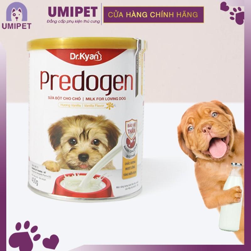 Sữa bột cho Chó Dr.Kyan Predogen (Hộp thiếc 400gr) UMIPET - Sữa bột cho thú cưng của bạn