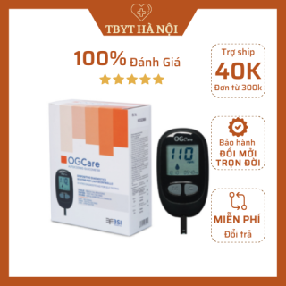 [CHÍNH HÃNG] Máy đo đường huyết OG-Care KÈM 25 que thử và 100 kim lấy máu (Nhập Ý) thumbnail